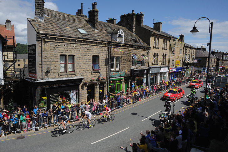 Yorkshire Welcomes The First Stage Of The Tour De France